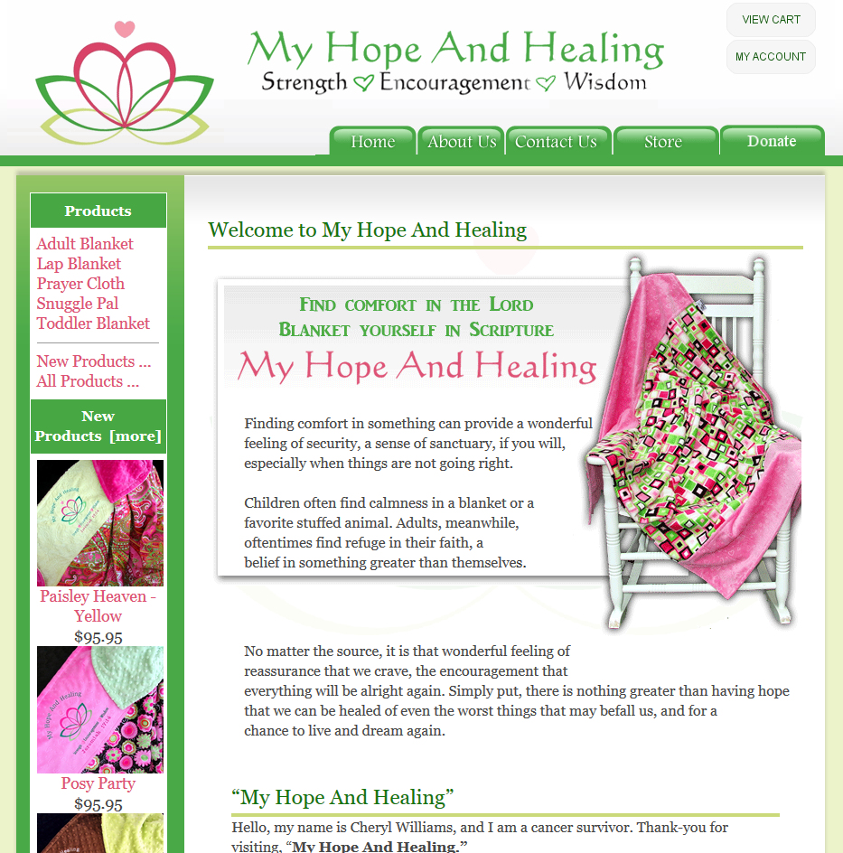 My Hope and Healing